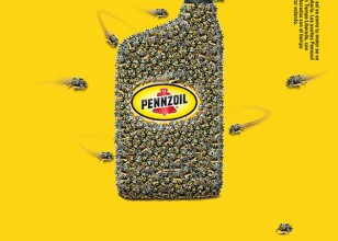 Pennzoil Like bees to Honey