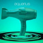 Aquarius Hair Dryer Package Design