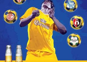 Corona Soccer Poster