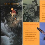 Poulan Pro Brochure Spread Design