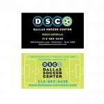 Dallas Soccer Center Business Cards
