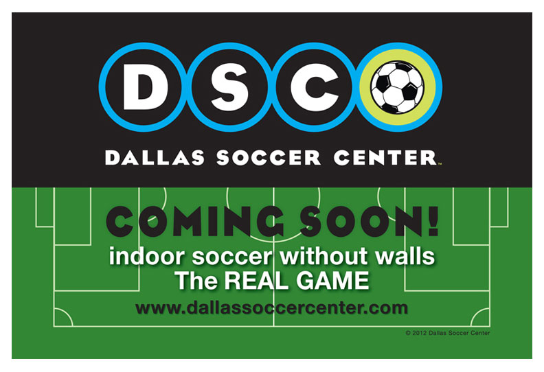 Dallas Soccer Center Ad